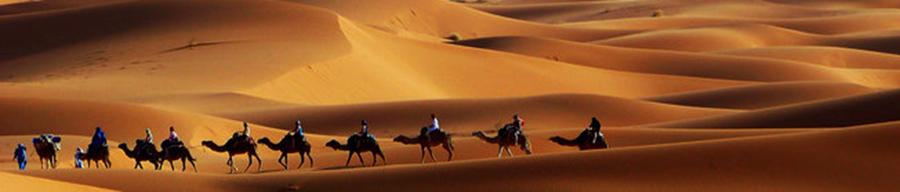 pueblos del Erg Chebbi: Merzouga, hassi, Khamlia