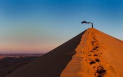 Turismo respetuoso con la naturaleza. Desierto