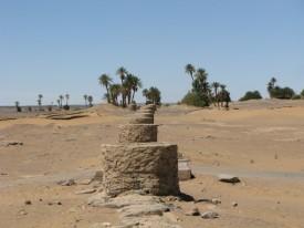 Turismo sostenible. Pozos de agua en el desierto