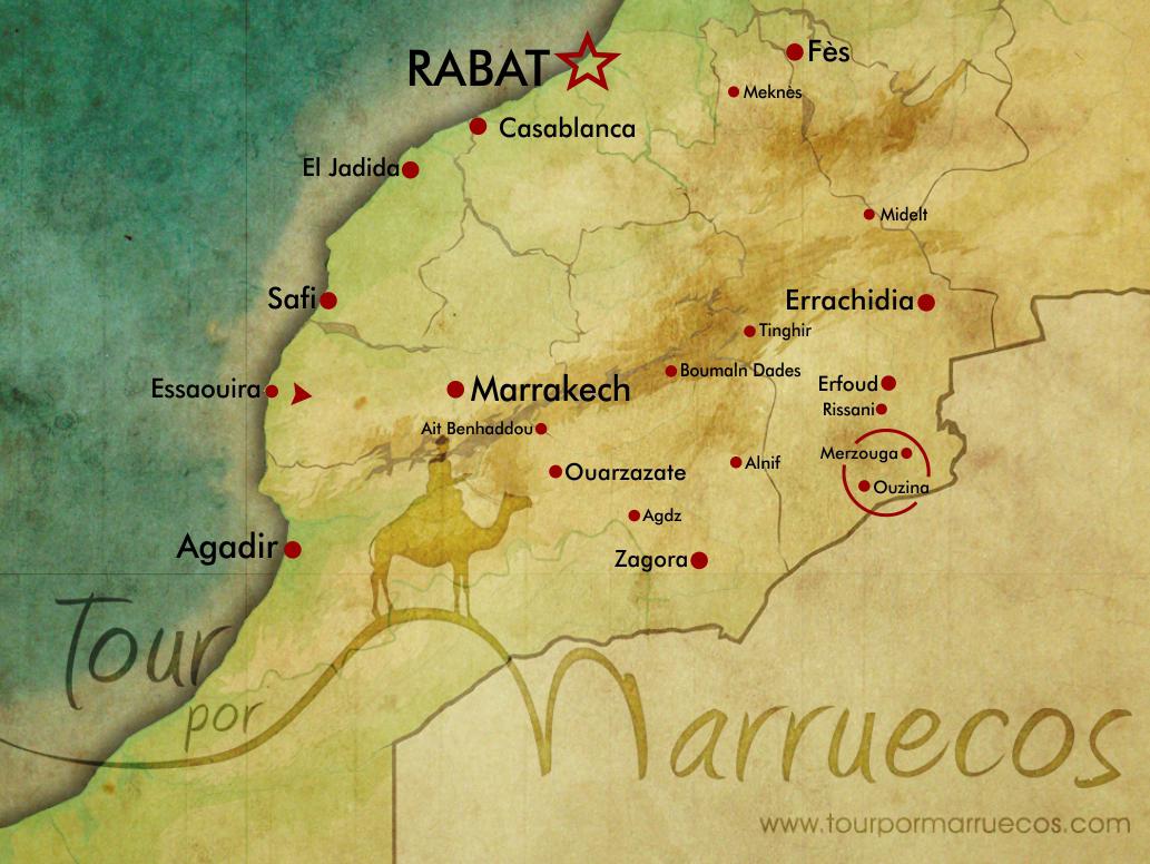 pueblos del Erg Chebbi