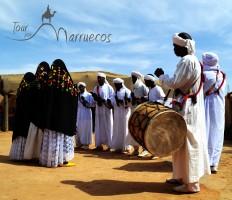 Música gnawa en Khamlia