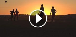VÍDEO: <br>Atardecer en el desierto