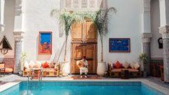 un riad en Marrakech