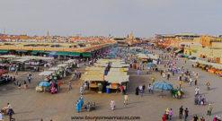 viajar a Marrakech. Plaza Jamma Fna